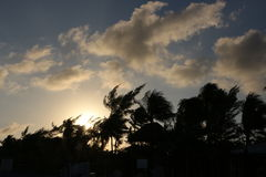 Ciel de plage images libres de droits