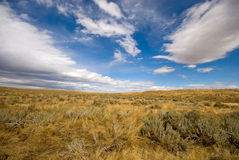 Ciel de prairie Photo stock