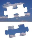 Ciel de puzzle Images stock