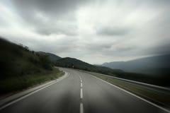 ciel de route à photos stock