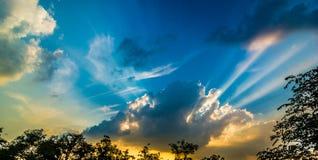 Ciel de Séoul Image stock