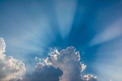 Ciel de Séoul Photo libre de droits