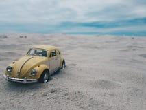 Ciel de sable de mer Photographie stock libre de droits