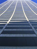 ciel de scrapper de nyc de construction Photographie stock