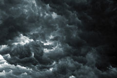 Ciel de tempête Image stock