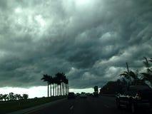 Ciel de tempête Photo stock