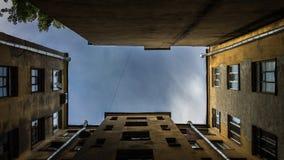Ciel de ville Photographie stock libre de droits