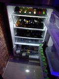 Ciel de vin Photo libre de droits