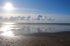 Ciel de Whitsand Photo libre de droits