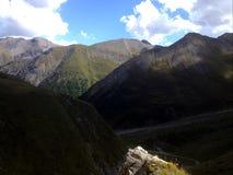 Ciel des montagnes Images libres de droits
