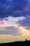 Ciel dramatique coloré Photographie stock libre de droits