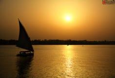 Ciel du Caire image libre de droits