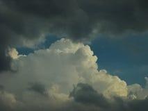 Ciel du Colorado Photo stock