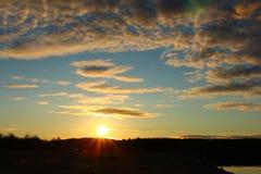 Ciel du nord Photographie stock