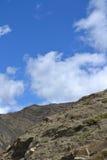Ciel du Thibet Photo libre de droits