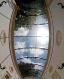 Ciel en verre Photographie stock libre de droits