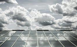Ciel en verre de toit Image libre de droits