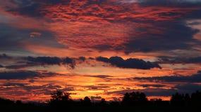 Ciel espiègle photo libre de droits