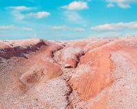 Ciel et chemin de terre photos libres de droits