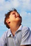 Ciel et child2 Photo libre de droits
