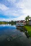 Ciel et eau de Benween Photographie stock libre de droits