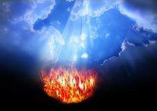 Ciel et enfer 3 Photographie stock libre de droits