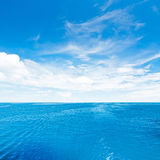 Ciel et mer Photo stock