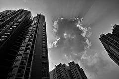 Ciel et nuage Images libres de droits