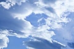 Ciel et nuage Photographie stock libre de droits