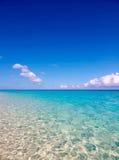 Ciel et nuage de mer Photo libre de droits