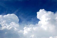 Ciel et nuages Photographie stock