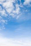Ciel et nuages Photographie stock libre de droits