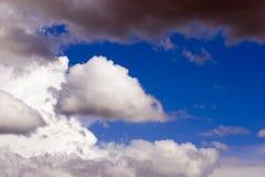 Ciel et nuages Image stock