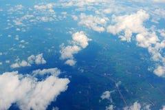 Ciel et nuages Photos libres de droits