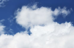 Ciel et nuages Photo stock
