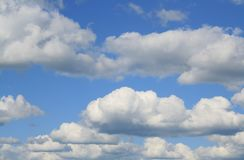 Ciel et nuages abstraits photographie stock libre de droits