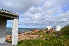 Ciel et nuages de Cabo Polonio Image libre de droits