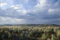 Ciel et nuages intéressants Photos libres de droits