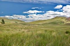 Ciel et nuages sur les collines Photos libres de droits
