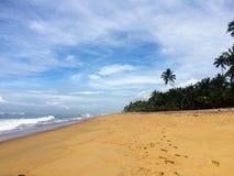 Ciel et océan Image libre de droits