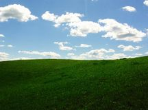 ciel et terre Photos libres de droits