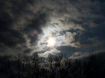 Ciel foncé photo libre de droits