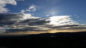 ciel fou Image libre de droits