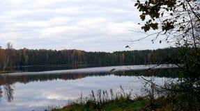 Ciel froid d'automne Photos libres de droits