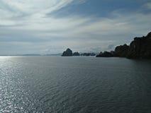 Ciel gentil de colline du Vietnam Photographie stock