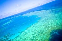 ciel grand de récif de barrière Image libre de droits
