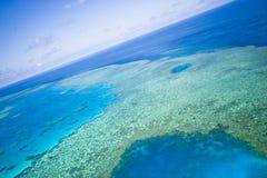 ciel grand de récif de barrière Images stock