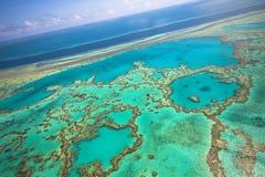 ciel grand de récif de barrière photos libres de droits