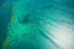 ciel grand de récif de barrière Photos stock