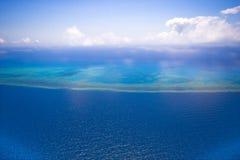 ciel grand de récif de barrière Photo stock